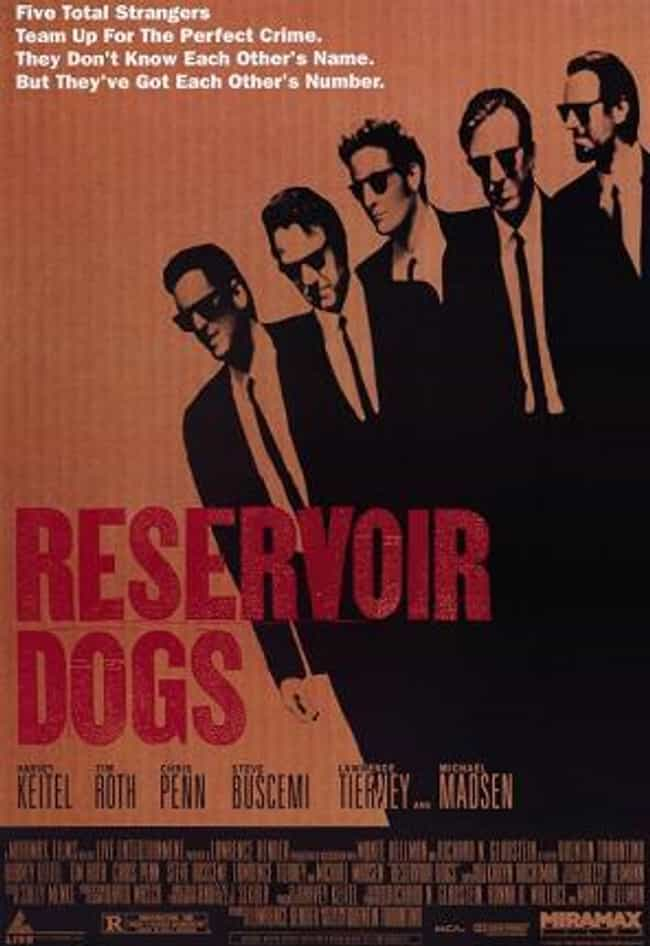 Reservoir Dogs is listed (or ranked) 4 on the list Quentin Tarantino Movies, Ranked Best to Worst