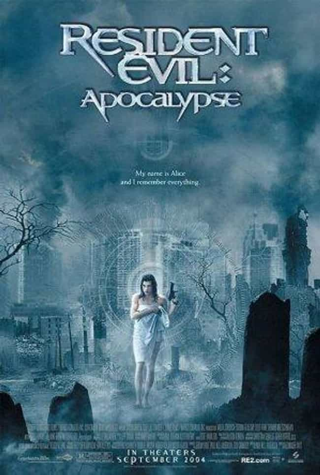 Resident Evil: Apocalypse is listed (or ranked) 2 on the list Every Resident Evil Movie, Ranked Best to Worst