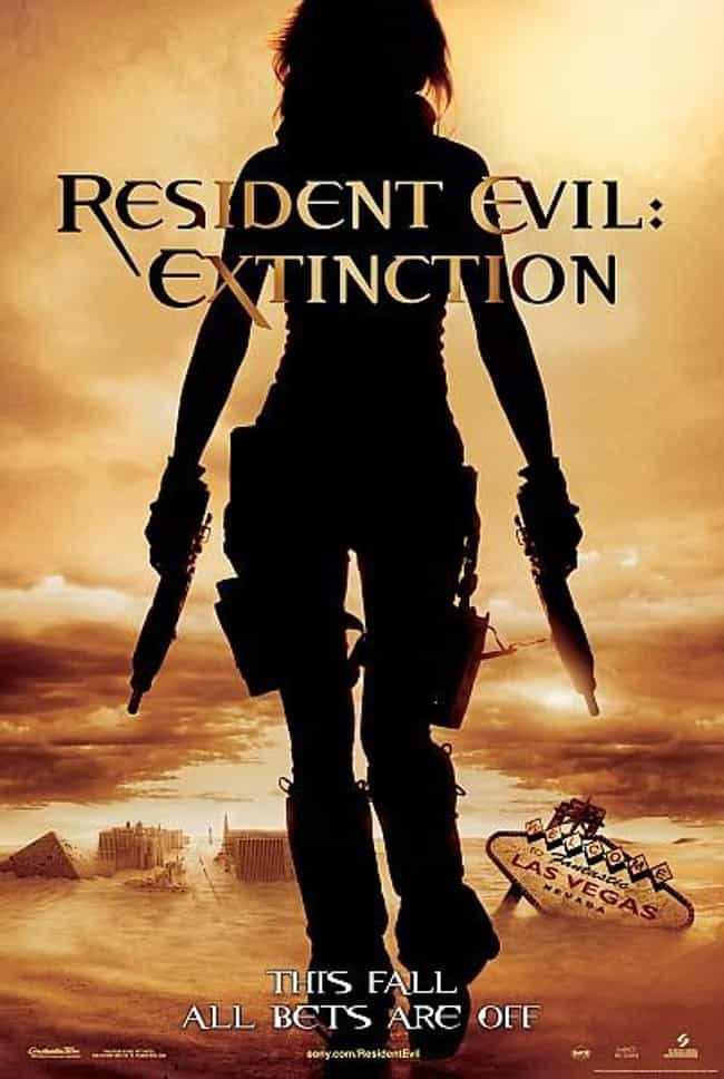 Resident Evil: Extinction is listed (or ranked) 3 on the list Every Resident Evil Movie, Ranked Best to Worst