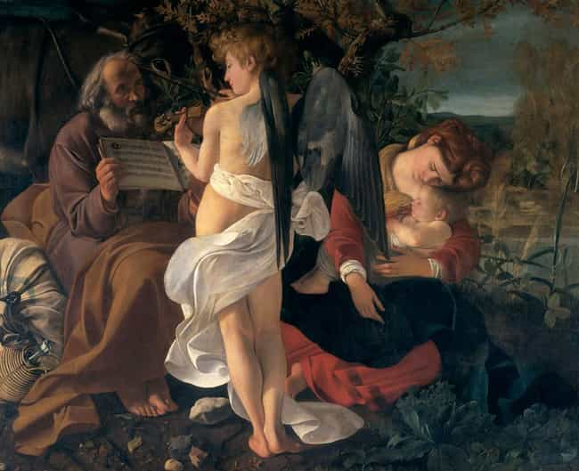 Rest on the Flight into Egypt is listed (or ranked) 4 on the list Famous Flight into Egypt Art