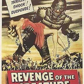 Revenge of the Creature is listed (or ranked) 25 on the list The Best Sci-Fi Movies of the 1950s