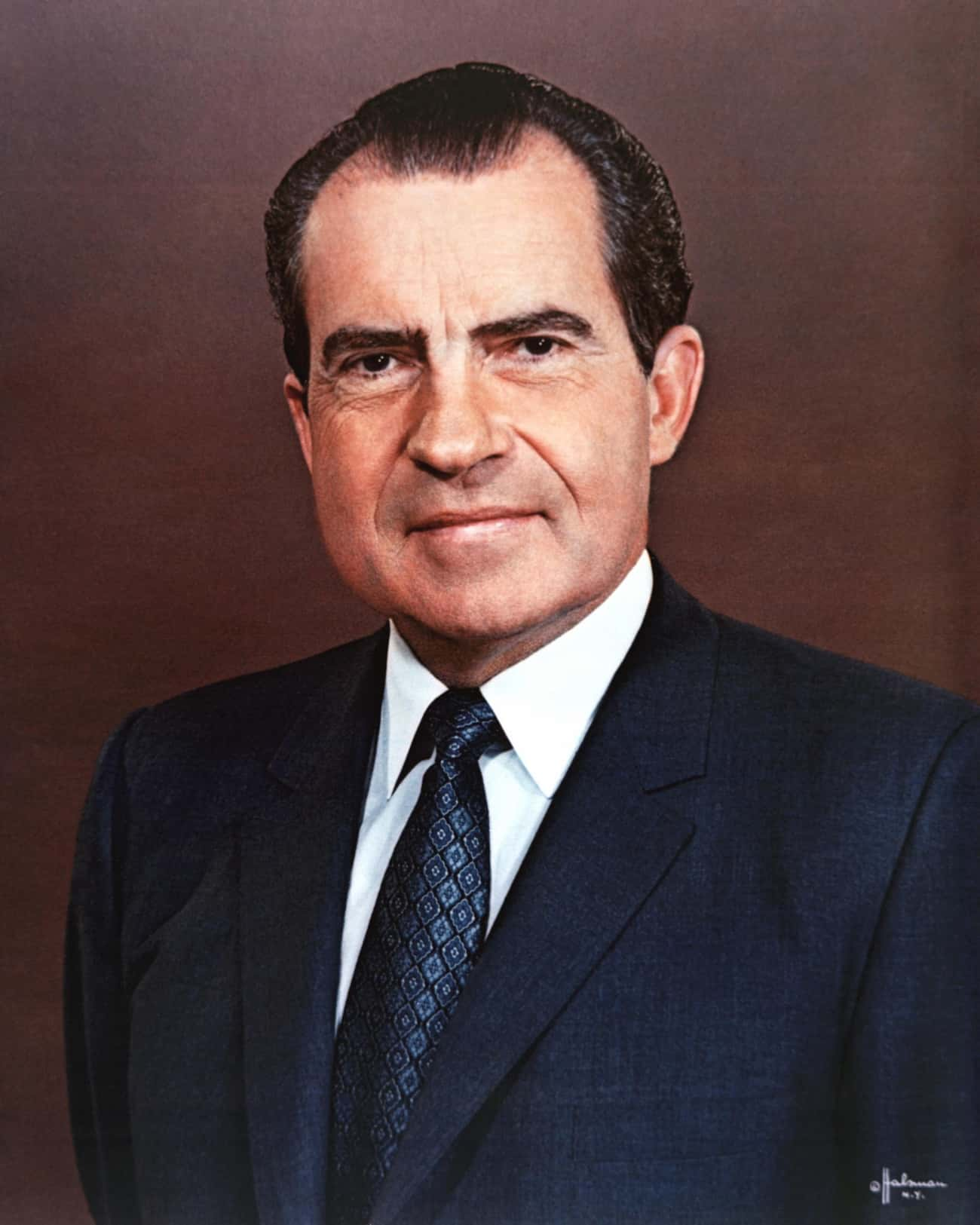 Richard Nixon is listed (or ranked) 1 on the list Every US President Who's Been Subject To An FBI Investigation