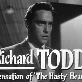 Richard Todd is listed (or ranked) 17 on the list Full Cast of The Longest Day Actors/Actresses