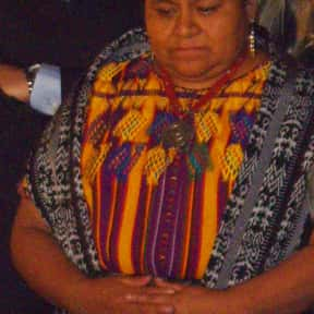Rigoberta Menchú is listed (or ranked) 13 on the list List of Famous Peace Activists