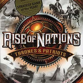 Rise of Nations: Thrones and P is listed (or ranked) 20 on the list The Best Real-Time Strategy Games of All Time