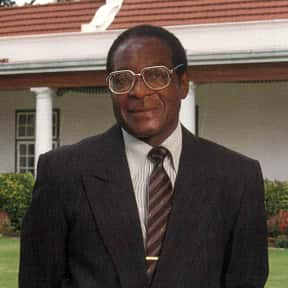 Robert Mugabe is listed (or ranked) 18 on the list Famous University Of London Alumni