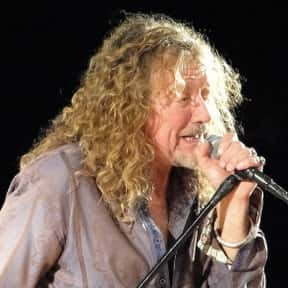 Robert Plant is listed (or ranked) 25 on the list The Greatest Male Pop Singers of All Time