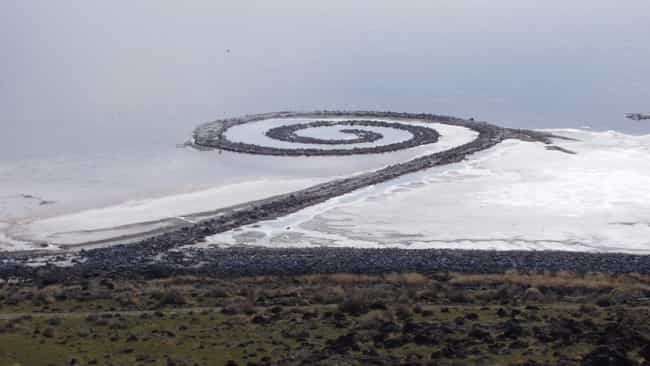 Robert Smithson is listed (or ranked) 4 on the list Famous Land Art Artists