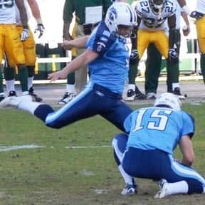 Rob Bironas is listed (or ranked) 24 on the list List of Famous Football Placekickers