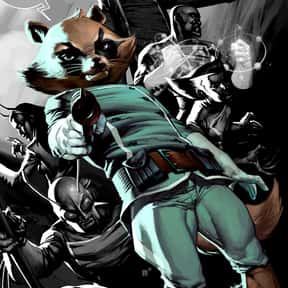 Rocket Raccoon is listed (or ranked) 13 on the list The Top Marvel Comics Superheroes