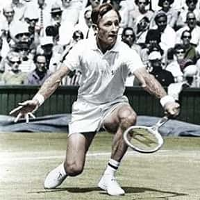 Rod Laver is listed (or ranked) 18 on the list The Greatest Male Tennis Players of the Open Era