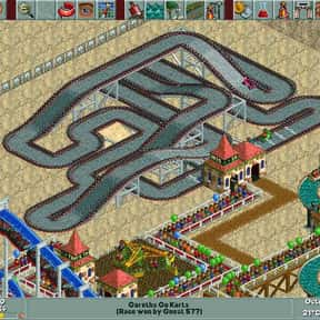 RollerCoaster Tycoon is listed (or ranked) 7 on the list The Best Games That Never End