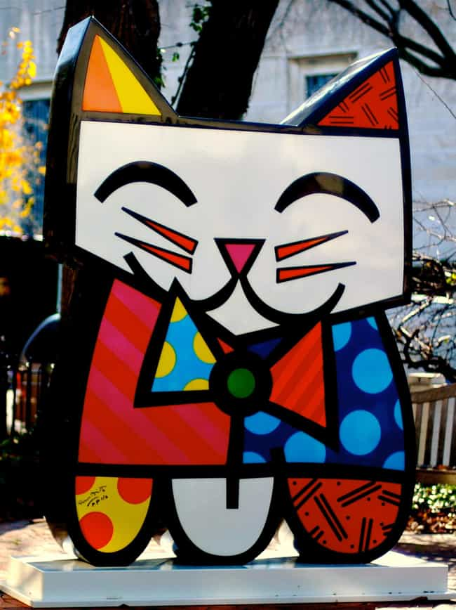Romero Britto is listed (or ranked) 4 on the list The Best Pop Art Artists