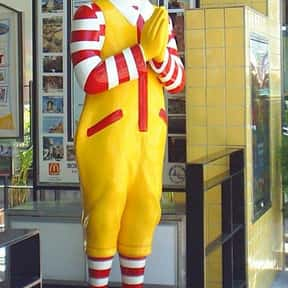 Ronald McDonald is listed (or ranked) 7 on the list Fictional Characters Named Ron