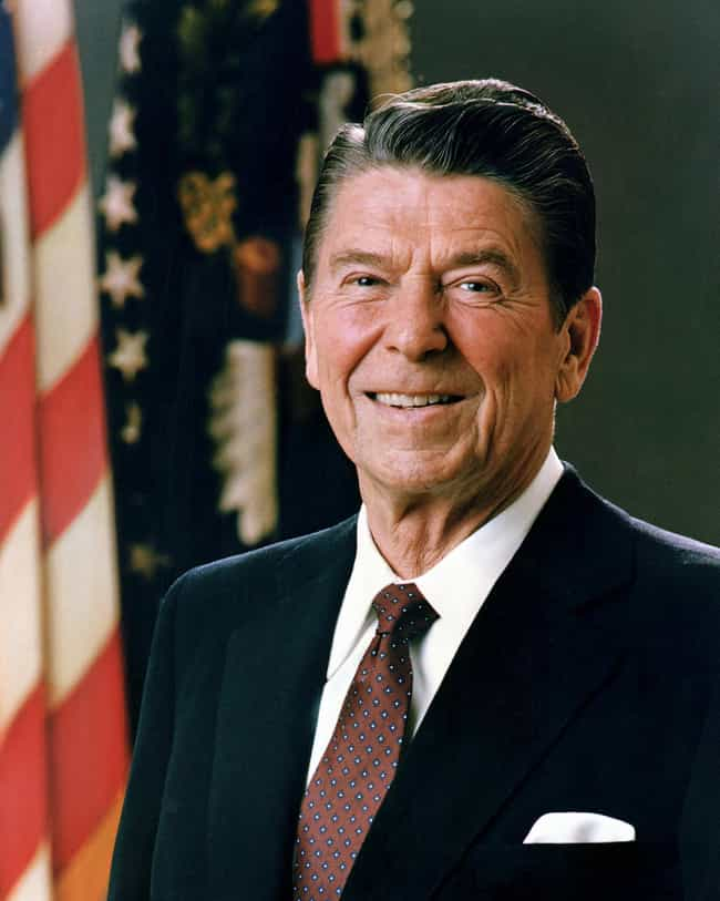 Ronald Reagan is listed (or ranked) 1 on the list Famous People with Tinnitus