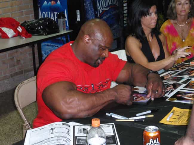 Ronnie Coleman is listed (or ranked) 6 on the list Famous Male Bodybuilders