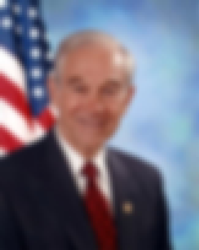 Ron Paul is listed (or ranked) 4 on the list 34 Celebrities Who Were in Lambda Chi Alpha