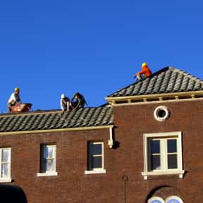 Roofer is listed (or ranked) 7 on the list The Most Dangerous Jobs in America