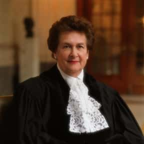 Rosalyn Higgins is listed (or ranked) 20 on the list Famous Judges from England