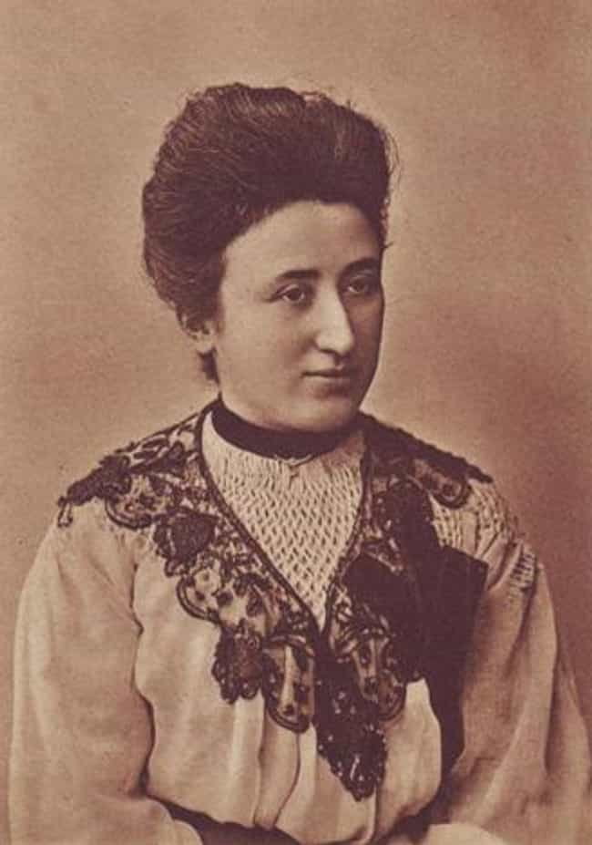 Rosa Luxemburg is listed (or ranked) 4 on the list Famous Female Philosophers
