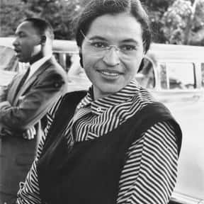 Rosa Parks is listed (or ranked) 1 on the list Famous People Buried in Woodlawn Cemetery