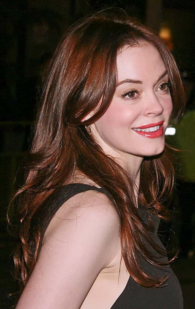 Rose McGowan is listed (or ranked) 35 on the list Famous People Who Were Relentlessly Bullied