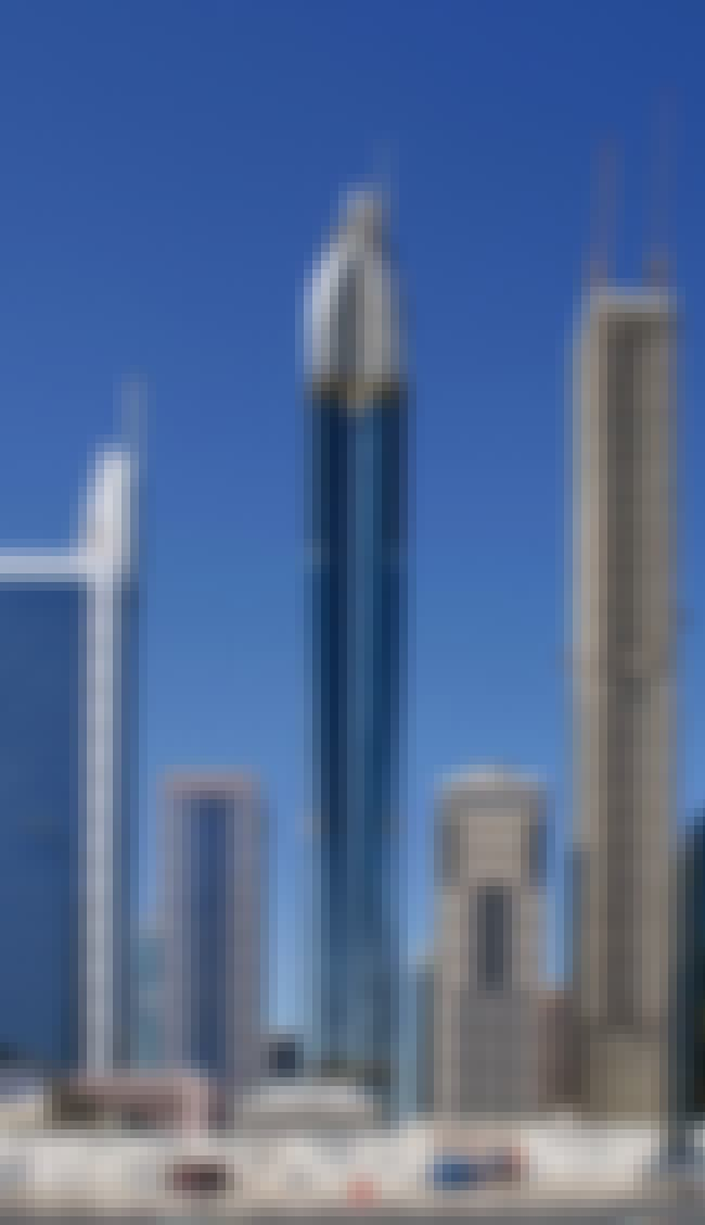 Rose Tower is listed (or ranked) 2 on the list The 25 Tallest Hotels in the World