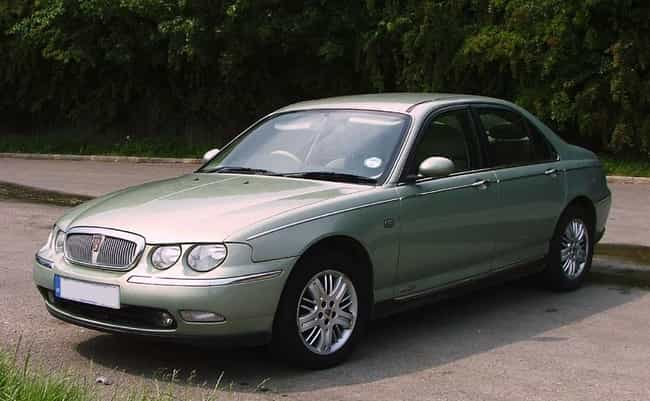 Rover 75 is listed (or ranked) 2 on the list Full List of Rover Models