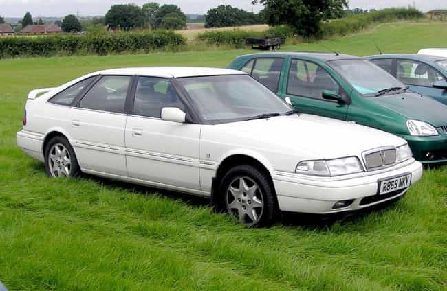 Rover 800 Series is listed (or ranked) 4 on the list Full List of Rover Models