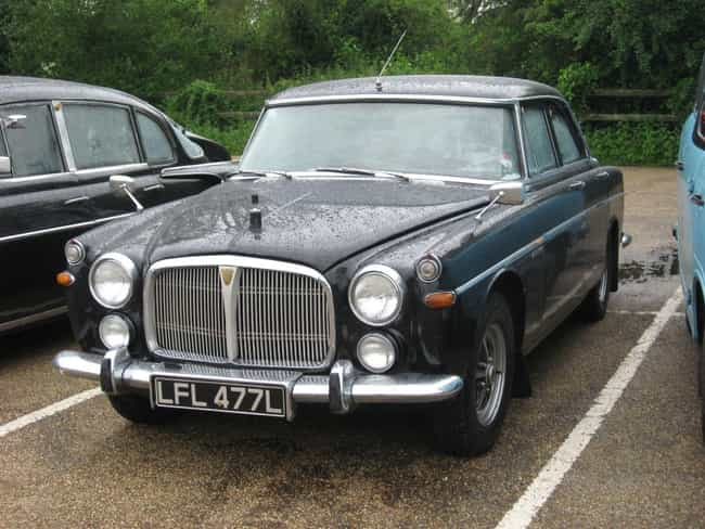 Rover P5 is listed (or ranked) 1 on the list Full List of Rover Models