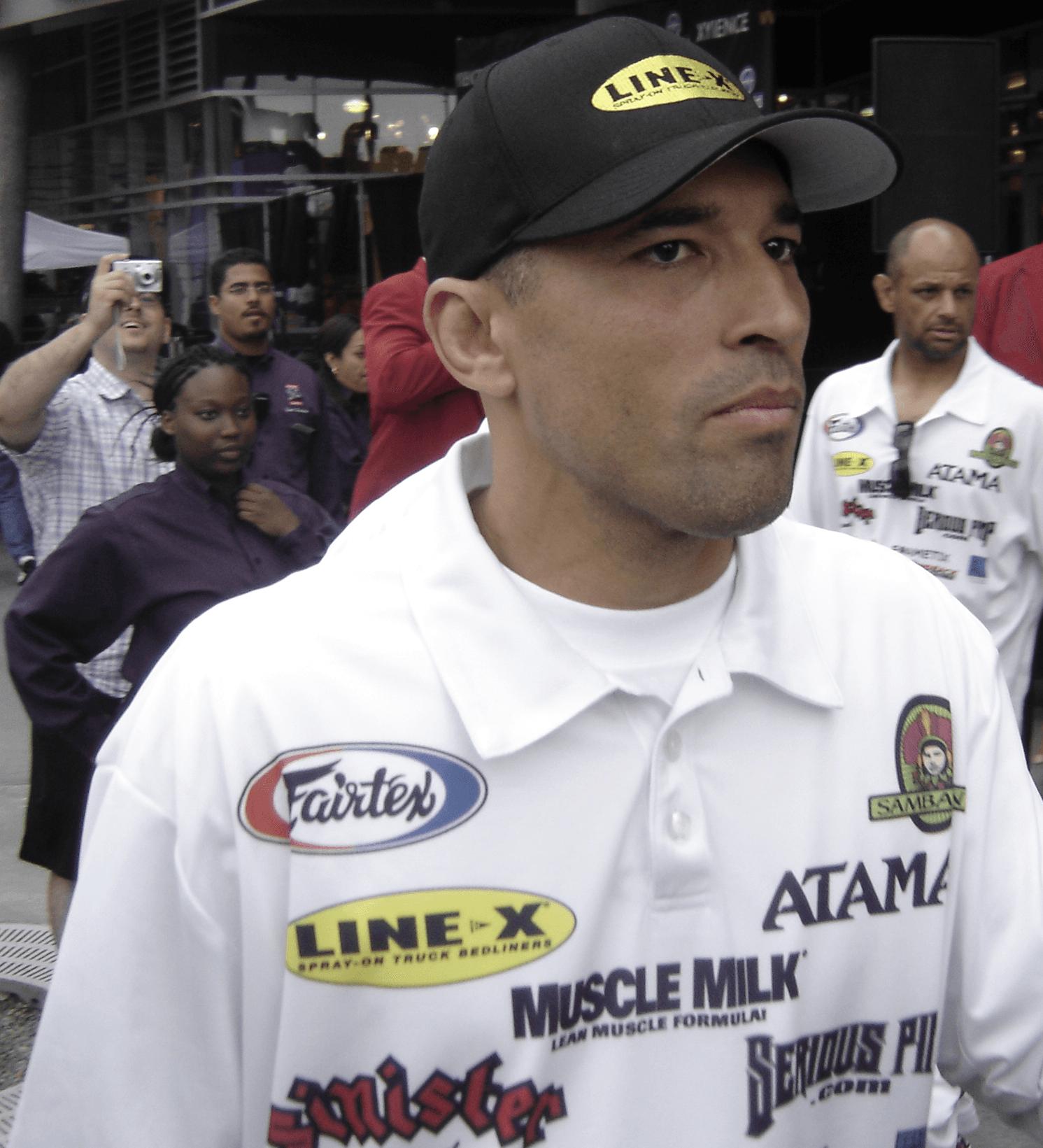 Royce Gracie on Random Greatest MMA Legends