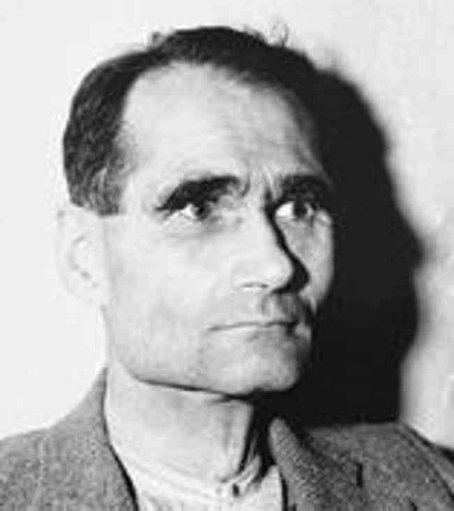 Rudolf Hess is listed (or ranked) 3 on the list Famous Prisoners Who Committed Suicide