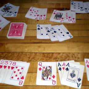 Rummy is listed (or ranked) 9 on the list The Most Popular & Fun Card Games