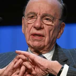 Rupert Murdoch is listed (or ranked) 21 on the list Forbes 400 Top Richest People in America