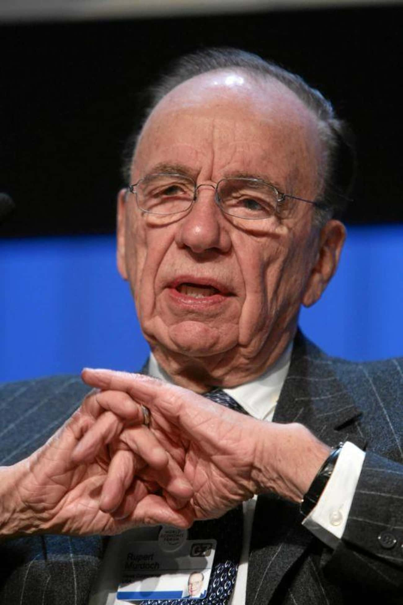 Rupert Murdoch is listed (or ranked) 1 on the list Famous People who Majored in Philosophy, Politics, And Economics
