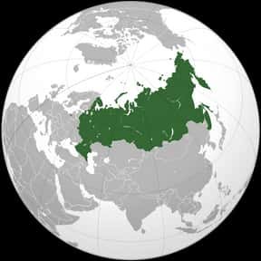 Russia is listed (or ranked) 1 on the list The 15 Most Forested Countries