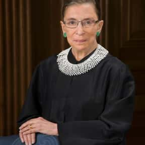 Ruth Bader Ginsburg is listed (or ranked) 12 on the list Famous Columbia Law School Alumni