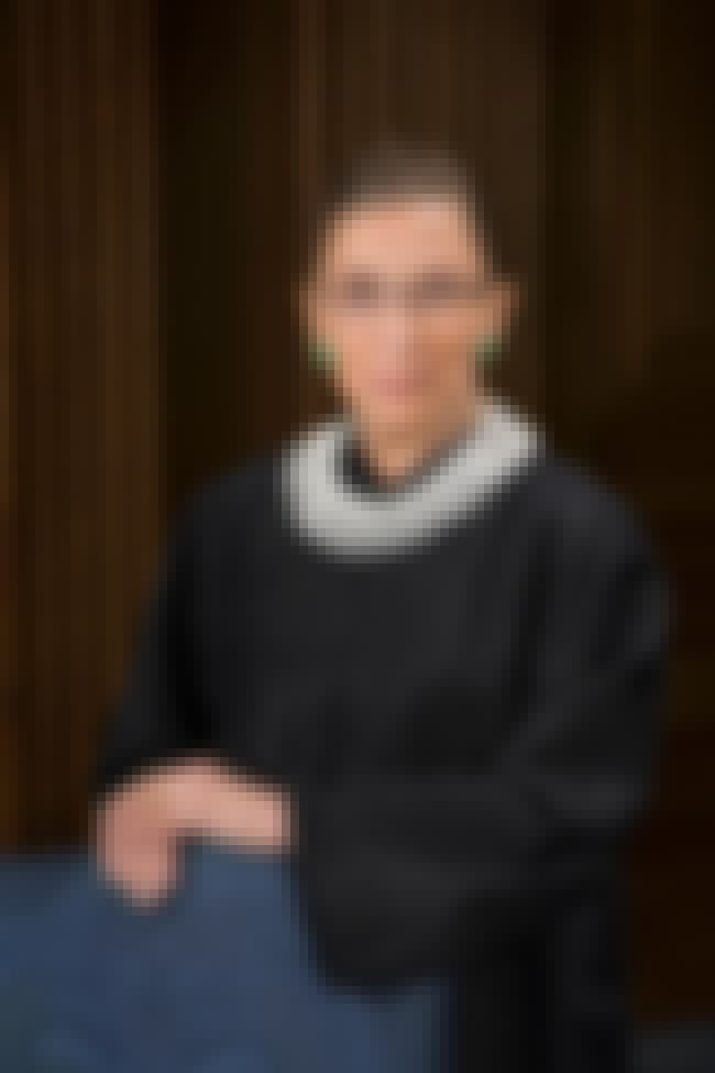 Ruth Bader Ginsburg is listed (or ranked) 2 on the list Famous Female Jurists