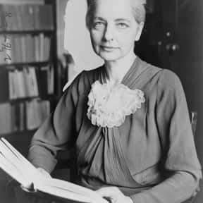 Ruth Benedict is listed (or ranked) 13 on the list Famous Vassar College Alumni