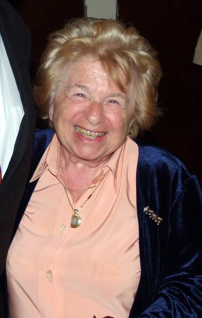 Ruth Westheimer is listed (or ranked) 2 on the list Weird Celebrity Facts That Are 100% True