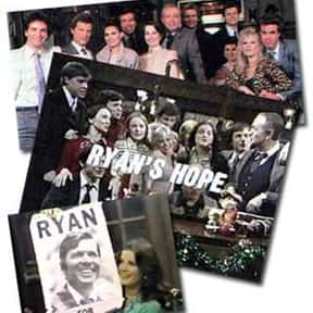 Ryan's Hope is listed (or ranked) 8 on the list The All Time Greatest Daytime Soap Operas