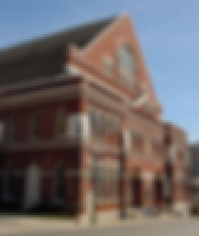 Ryman Auditorium is listed (or ranked) 4 on the list 11 Scary Stories That Prove Tennessee Is The Creepiest State