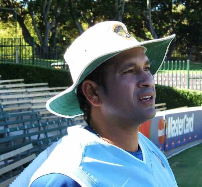 Sachin Tendulkar is listed (or ranked) 2 on the list Famous Male Cricketers