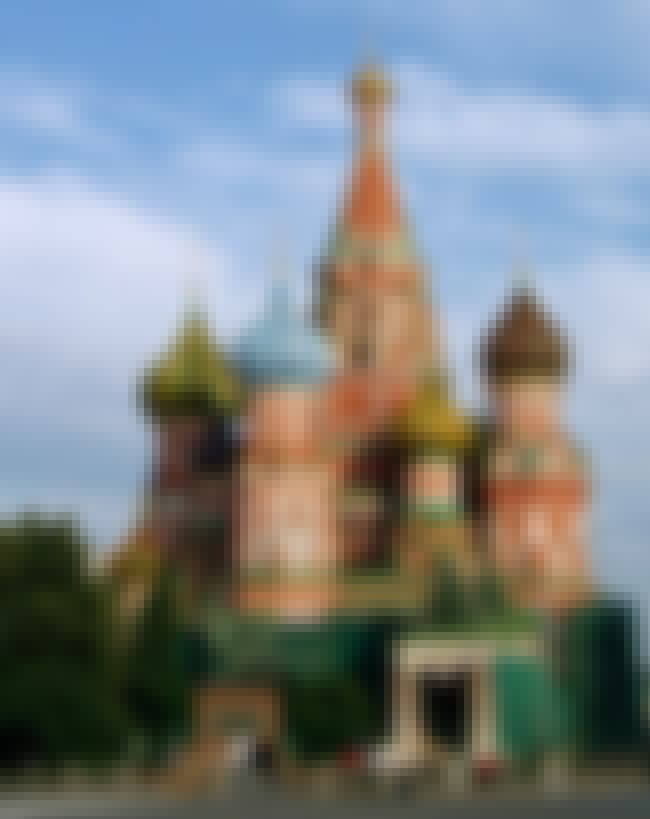 Saint Basil's Cathedral is listed (or ranked) 6 on the list The Most Beautiful Buildings in the World