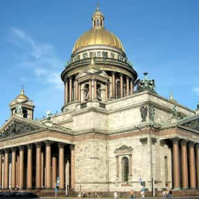 Saint Isaac's Cathedral is listed (or ranked) 11 on the list The Top Must-See Destinations in Russia