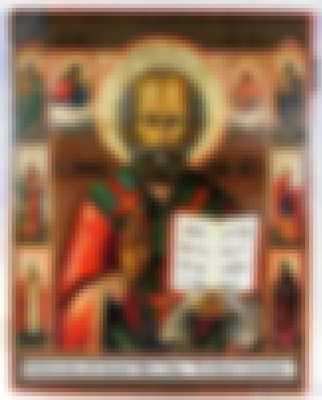 Saint Nicholas is listed (or ranked) 7 on the list List of Famous Saints
