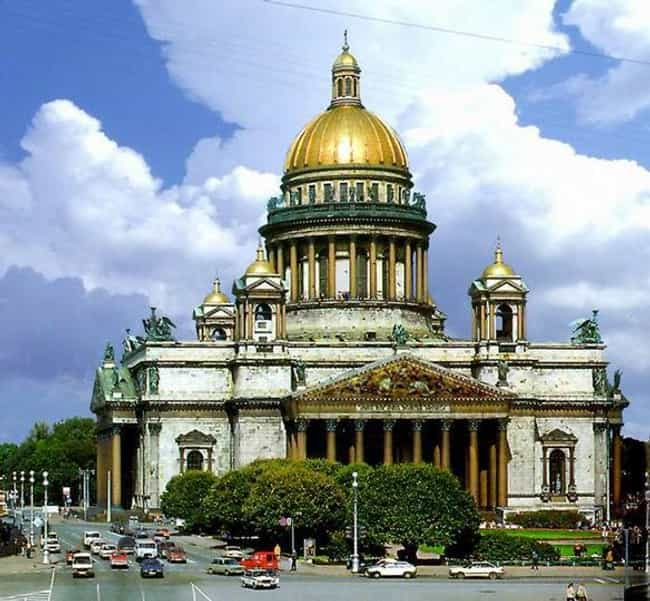 Saint Petersburg is listed (or ranked) 3 on the list The Most Magical Cities in the World