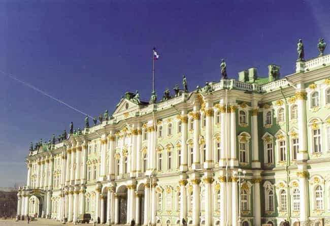 Saint Petersburg is listed (or ranked) 6 on the list The Most Beautiful Cities in the World