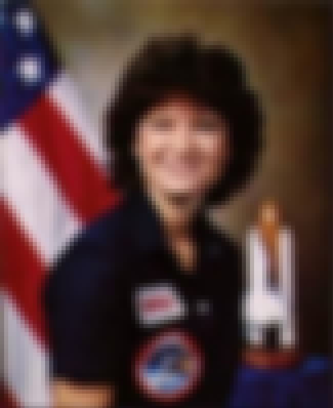 Sally Ride is listed (or ranked) 3 on the list List of Famous Astronauts