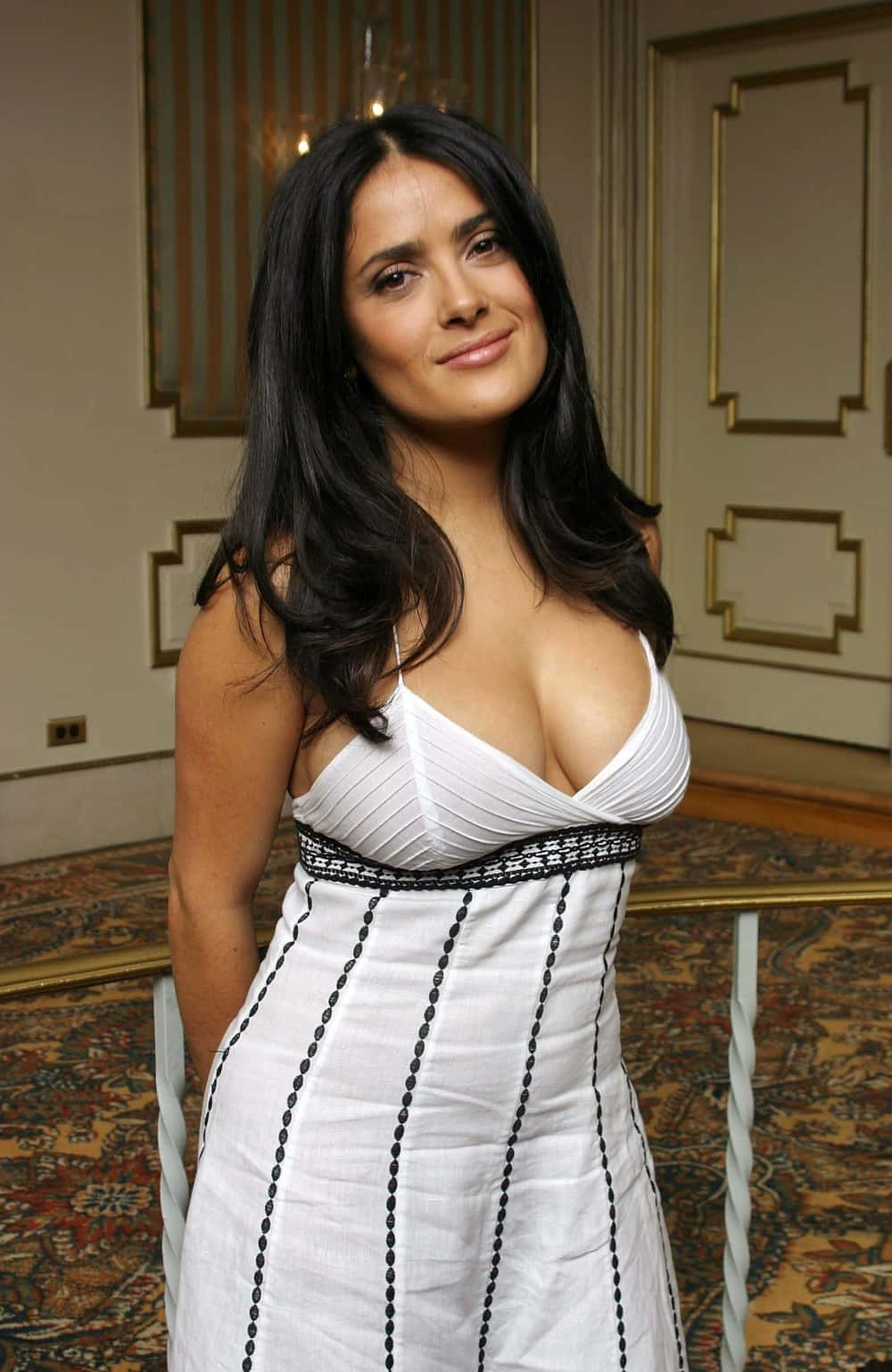 Salma Hayek is listed (or ranked) 1 on the list 26 Famous People Who Were Kicked Out of High School